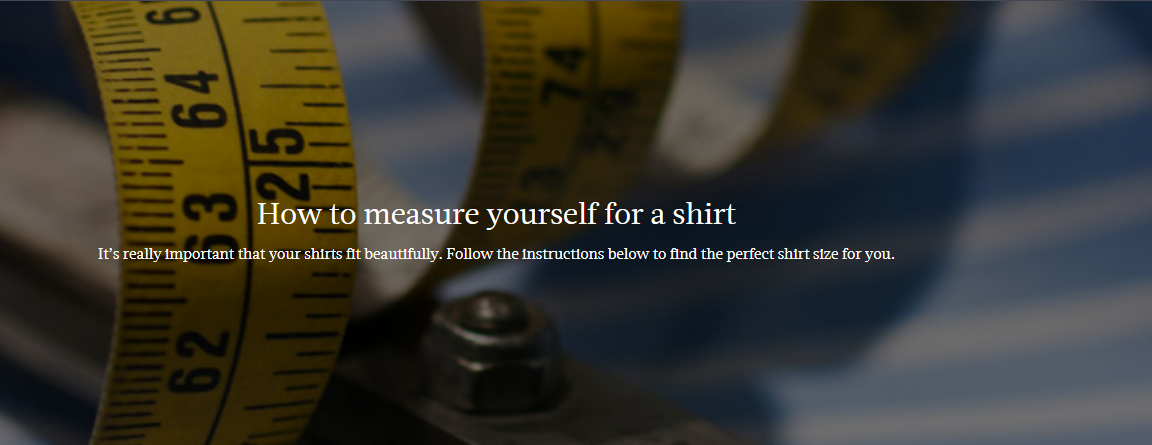 How To Measure Yourself For A Shirt