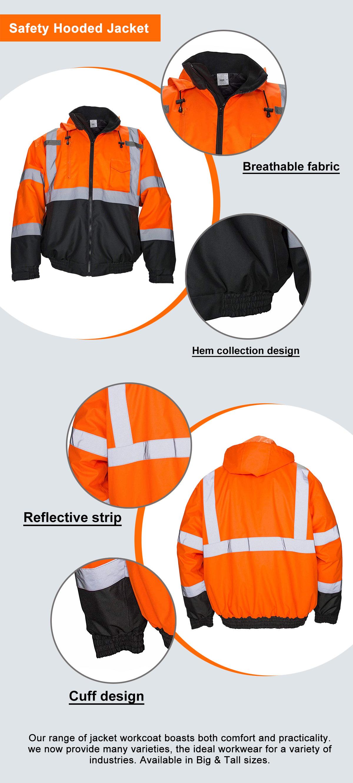 Safety Hooded Jacket