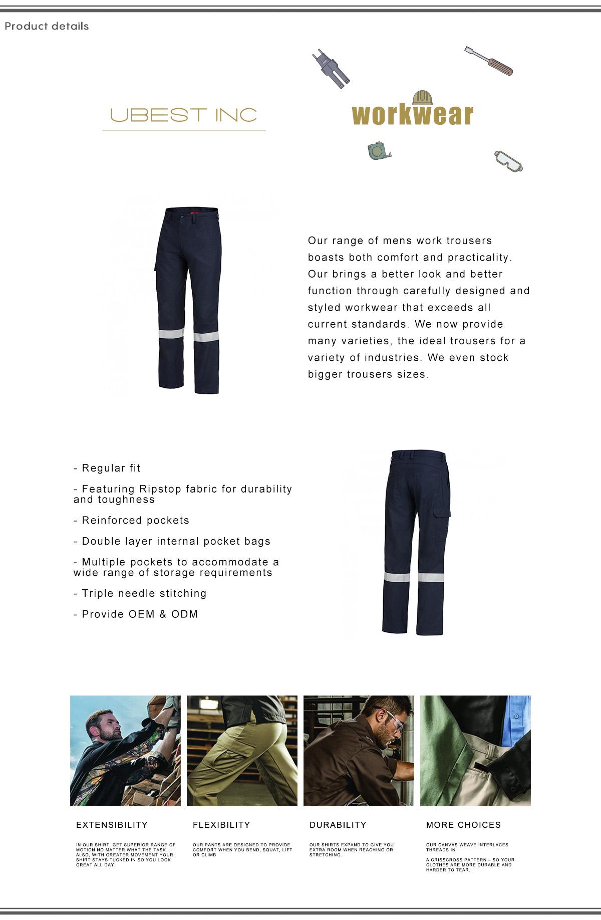 Men Workwear Pants