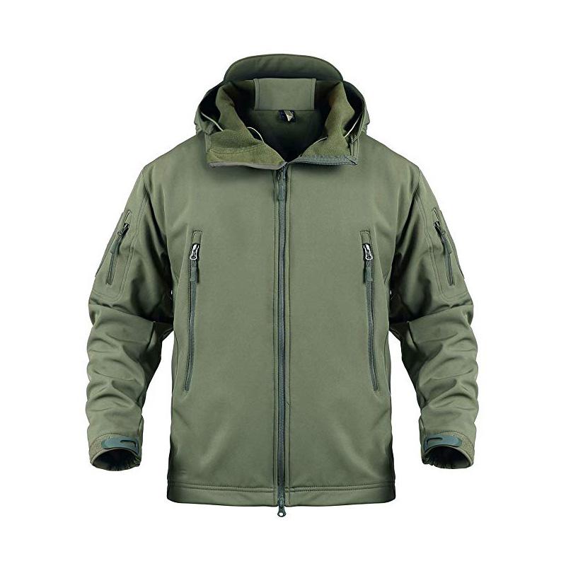 Hooded Outdoor Coat