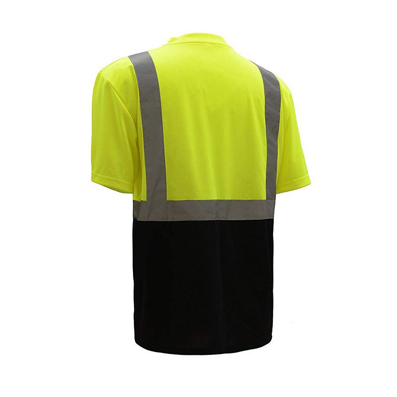 Hi-Vis Safety Short Sleeve Shirt