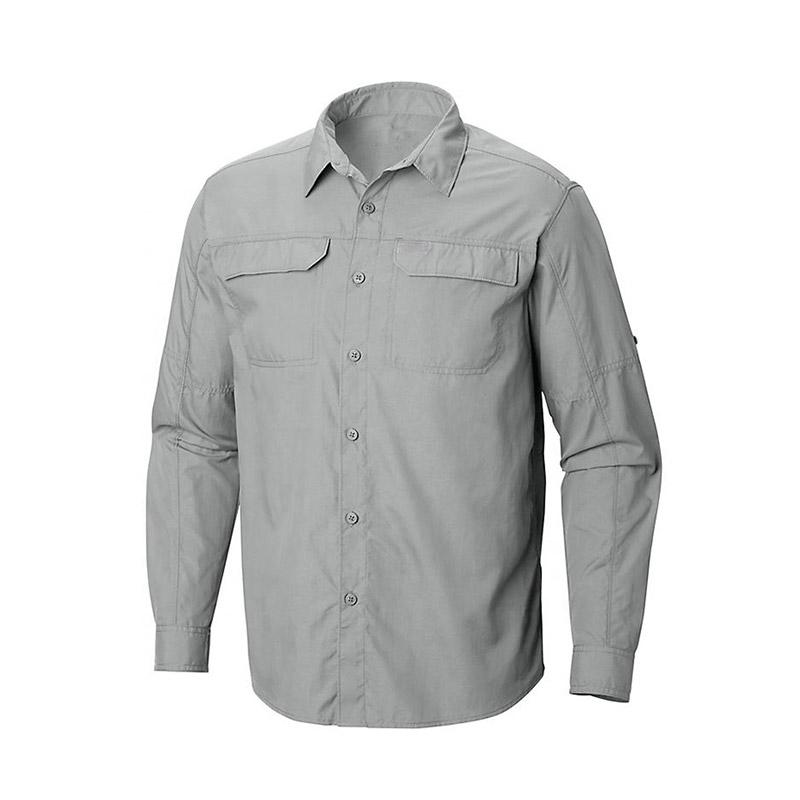 Men Long Sleeve Work Shirt