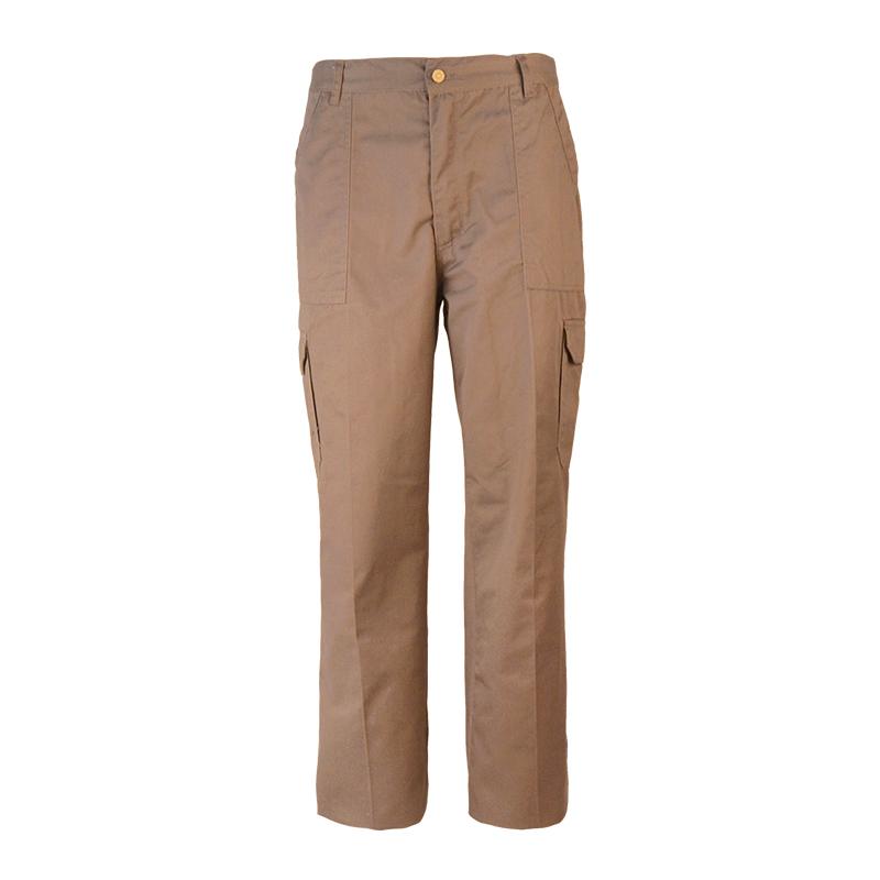Cotton Twill Cargo Pants Men