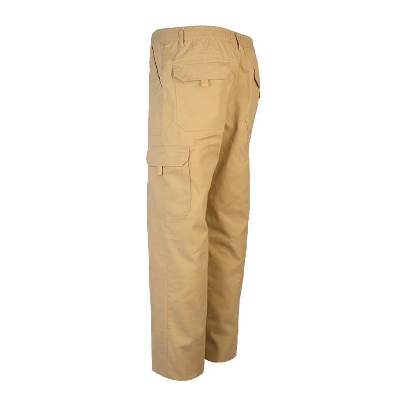 Men Stretch Twill Fabric Pants