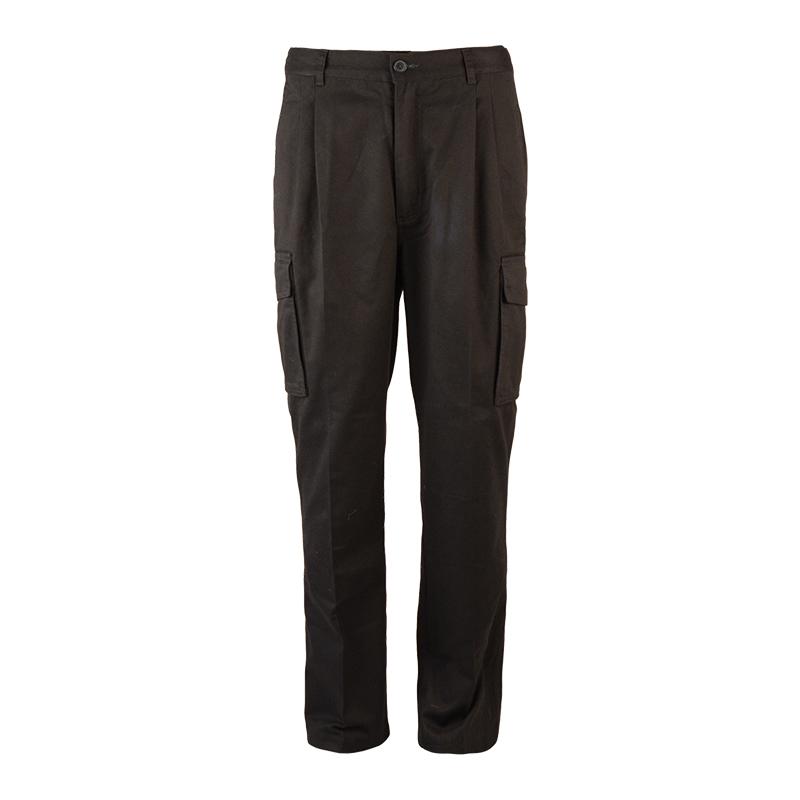 Men High Waist Cargo Pants