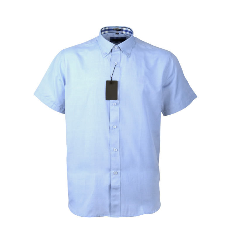 Short Sleeve Custom Men Office Shirts