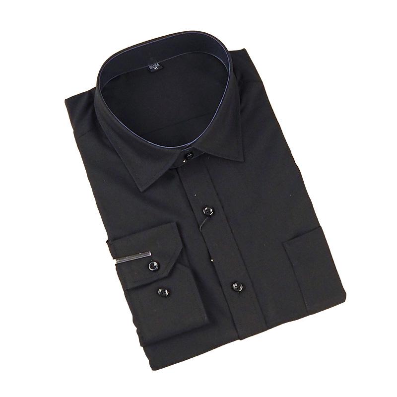 Long Sleeve Black Fomal Shirts