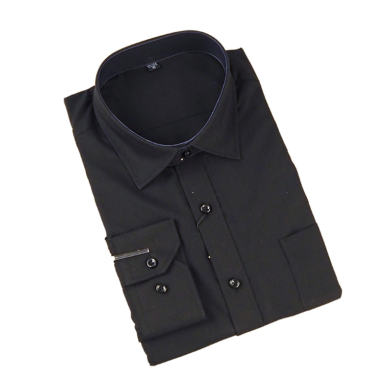 Long Sleeve Black Fomal Shirts