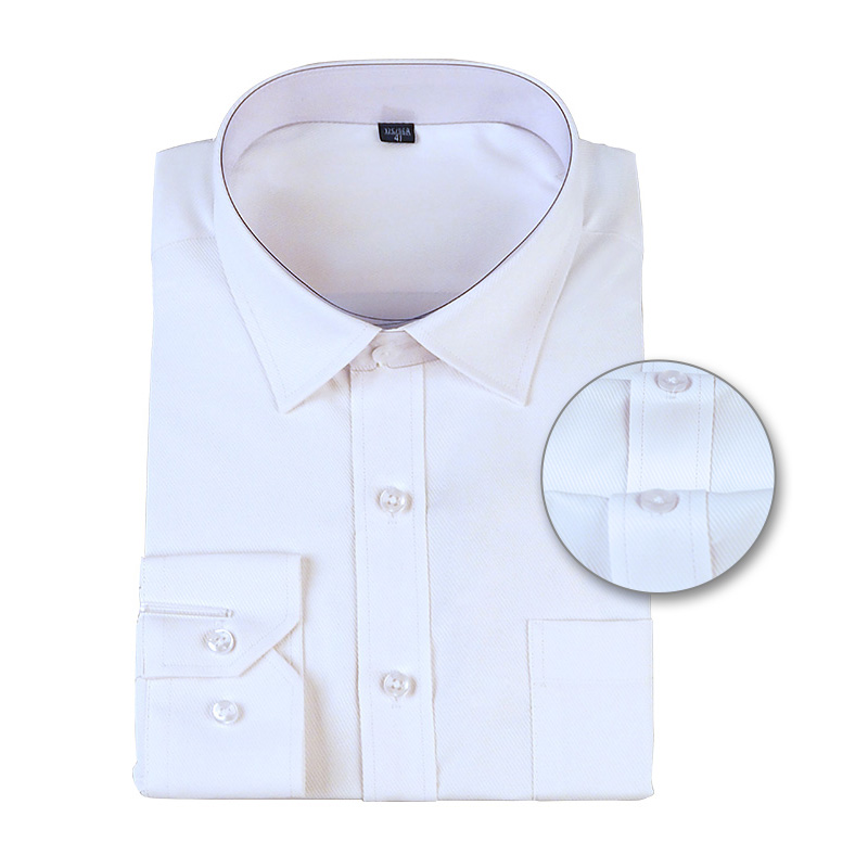 Men Office Shirts Long Sleeve