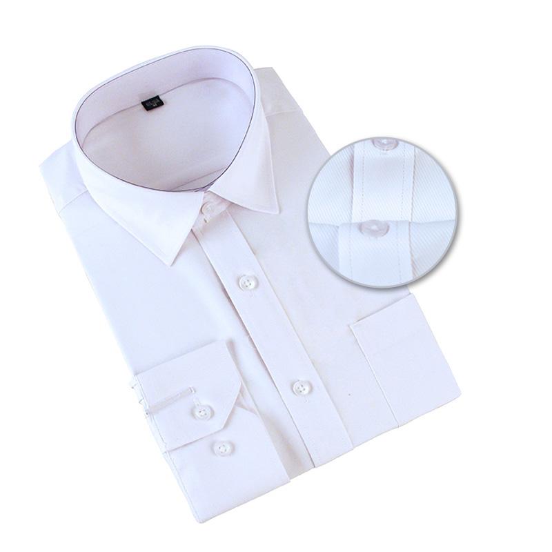 Men Office Shirts Long Sleeve
