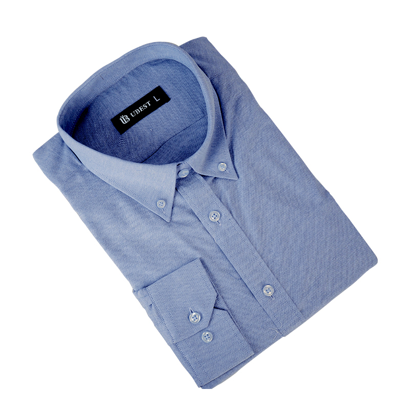 Button Down Collar Formal Men Shirt