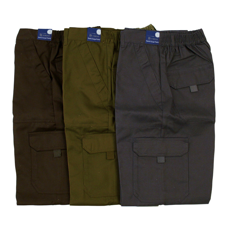 Men Cargo Trousers Working Pants